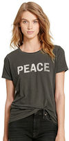 Denim & Supply Ralph Lauren Peace Cotton Jersey Tee
