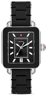 Michele Wrapped Deco Sport Watch, 34mm x 36mm - 100% Exclusive