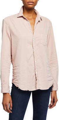 Frank And Eileen Long-Sleeve Cotton Button-Down Top