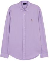Polo Ralph Lauren White Slim Cotton Oxford Shirt
