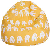 Zoomie Kids Olivia Elephant Print Bean Bag Chair