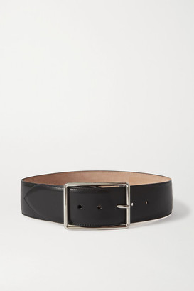 Alexander McQueen Leather Waist Belt - Black