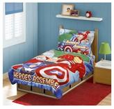 Marvel Avengers 4 Pc Toddler Bed Set - Blue
