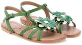 Pépé floral sandals - kids - Goat Skin/Leather - 30