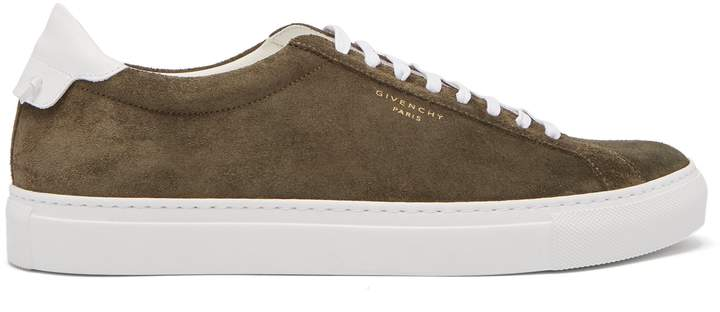 Givenchy Urban Street low-top suede trainers
