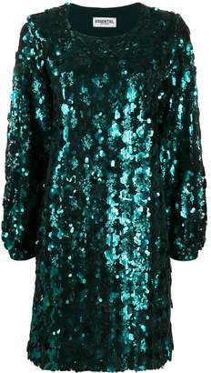 Essentiel Antwerp sequin shift dress