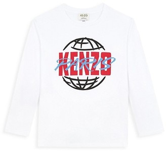 Kenzo Little Kid's & Kid's Ken Logo Long Sleeve