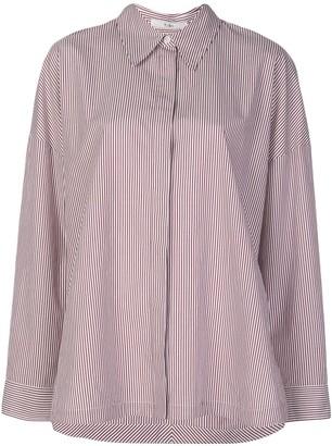Tibi Oversized Striped Shirt