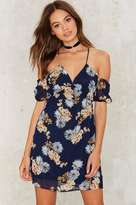Factory Heavy Petal Floral Dress