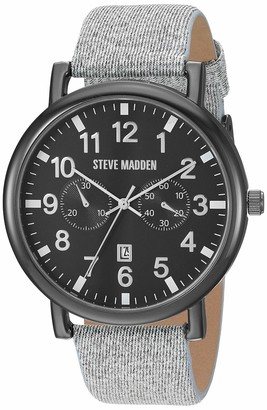 Steve Madden Fashion Watch (Model: SMW256BK-GY)
