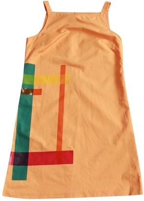Fendi Orange Cotton Dresses