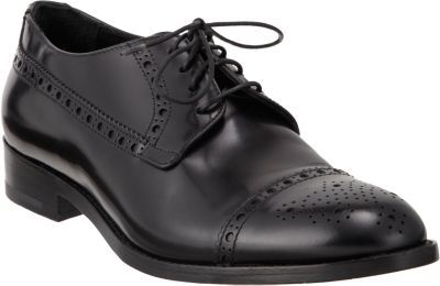 Giorgio Armani Medallion Cap Toe Oxford