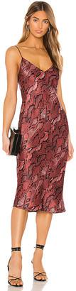 L'Agence Jodie V Neck Slip Dress