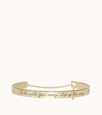 Tod's Lettering Bracelet