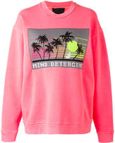 Alexander Wang mind detergent patch sweatshirt