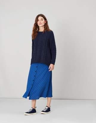 Joules TALLULAH Button through skirt