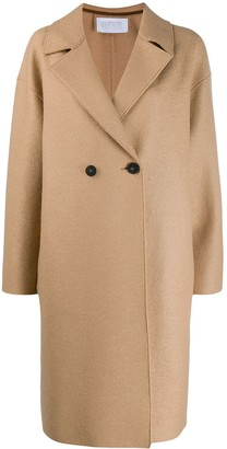 Harris Wharf London Double-Breasted Buttoned Coat
