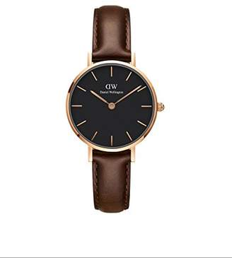 Daniel Wellington Classic Petite Bristol in Black 28mm