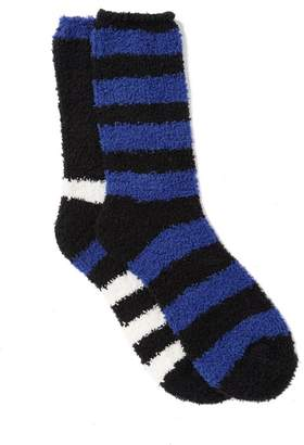 Nordstrom Multi Stripe Butter Socks - Pack of 2