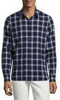 Ovadia & Sons Max Plaid Cotton Shirt