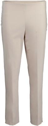 Brunello Cucinelli Cotton Twill Side Zip Pant