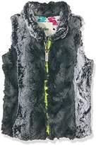 Hatley Girl's Faux Fur Vest Gilet