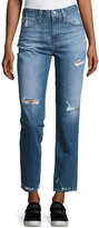 AG Jeans The Phoebe Vintage High-Waist Jeans, 17 Years Oasis
