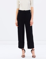 Mng Wide Leg Suit Trousers