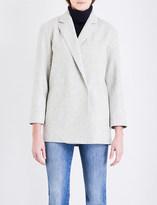 French Connection Platform oversized wool-blend coat