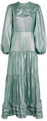 Erdem Lurex Lucine Maxi Dress