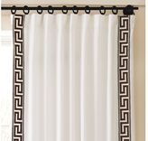Key Embroidered Drape