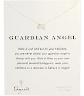 Dogeared Women's Guardian Angel Reminder Necklace Necklace
