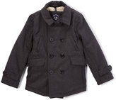 Urban Republic Charcoal Double-Layer Jacket - Toddler & Boys