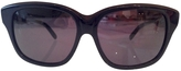 Chloé Navy Metal Sunglasses
