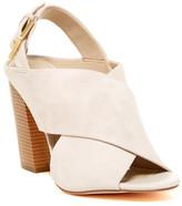 Calvin Klein Suchi Suede Block Heel Sandal