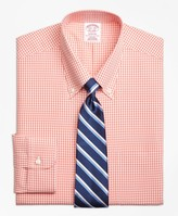 Brooks Brothers Madison Classic-Fit Dress Shirt, Non-Iron Dobby Gingham