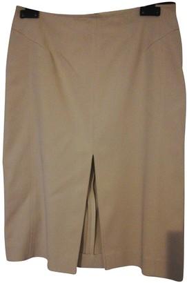 Giuliana Teso Beige Cotton - elasthane Skirts