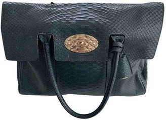 Mulberry Bayswater Green Exotic leathers Handbags