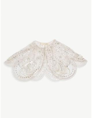 Tutu Du Monde Sequin embellished butterfly cape