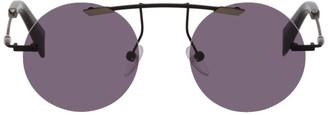 Yohji Yamamoto Black YY7011 Sunglasses