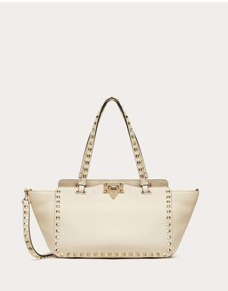 Valentino Garavani Small Grain Calfskin Leather Rockstud Bag