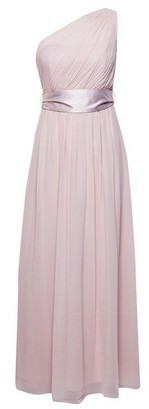 Dorothy Perkins Womens Showcase Petite Blush Bridesmaid 'Sadie' Maxi Dress