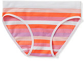 Copper Key Big Girls 7-16 Seamless Mini-Striped Hipster Panties
