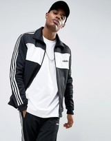 adidas London Pack Block Track Jacket In Black Bq9368