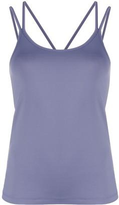 Filippa K Soft Sport Layered Multi-Strap Yoga Top