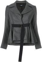 Jil Sander Navy belted jacket