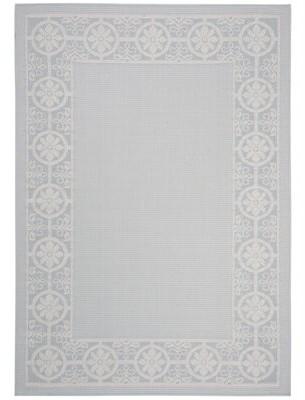 Martha Stewart Gray Indoor / Outdoor Rug Rug Size: Rectangle 4' x 6'