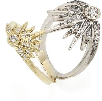 H.Stern Noble Gold and Diamond Genesis Ring
