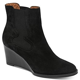 Andre Assous Women's Sadie Wedge Heel Booties