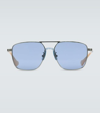 Gucci Square-frame aviator sunglasses